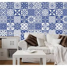 china waterproof wall sticker home bedroom oil proof creative flowers romantic art decor removable tile