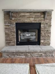 bold idea stone fireplace hearths 16 ina gray stone fireplace flat or raised hearth