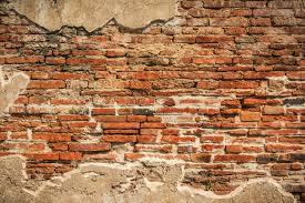old brick wall ed red wall