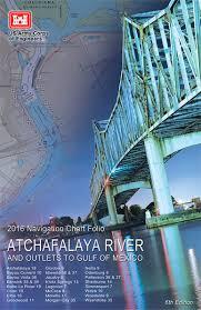 Mexico Navigation Charts Atchafalaya River And Outlets To The Gulf Of Mexico Navigation Charts 2016
