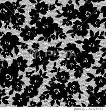 シンプルな花柄のイラスト素材 35178082 Pixta