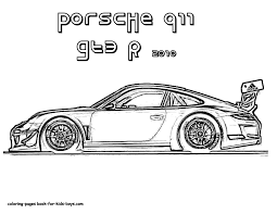 Incredible Car Coloring Pages For Boys