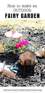 easy outdoor fairy garden