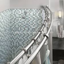 double tension rod moen adjule double curved chrome shower rod double tension rod shower organizer