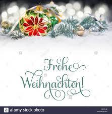 Weihnachten Grußkarte Oder Grenze Glas Christbaumkugel Mit