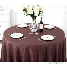 zxy round tablecloth polyester cotton tablecloth wear resistant anti fouling easy to clean machine wash hotel
