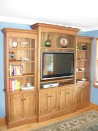 Wood Living Room Chair Custom Made White Oak Entertainment Center By Norman Orsinger
