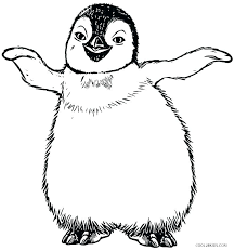 Baby Penguin Coloring Pages Baby Penguin Coloring Pages Cute Baby