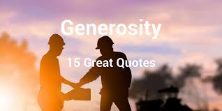 Generosity Quotes Custom 48 Great Quotes About Generosity