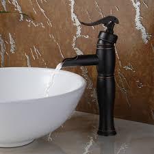 8828orb elite oil rubbed bronze single lever tall vessel sink faucet bathroom sinks stone sink kitchen sink stainless steelsink bathroom sink glass sink