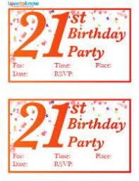 printable 21st birthday cards free printable 21st birthday invitations