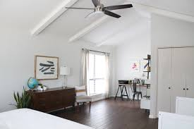 office in master bedroom. A Mid-Century Modern Family Home | West Elm Office In Master Bedroom