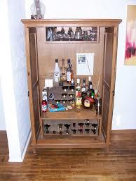 Ikea Console | Corner Liquor Cabinet | Vertical Wine Rack