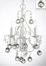 captivating wrought iron chandelier with crystals white