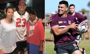 footy star s dad pleads to be released from jail to watch his son s state of origin debut daily mail