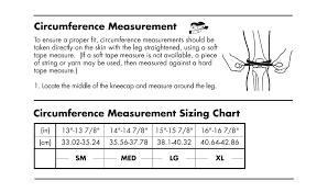 Asterisk Knee Brace Sizing Information Mxstore Help