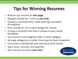 A Winning Resumes How To Write A Winning Resume Workshop