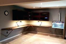 corner desk designs wall mounted with mount ideas 6