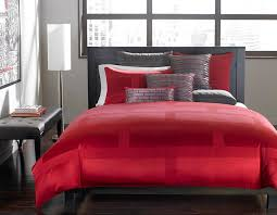 hotel collection bedding red frame lacquer collection contemporary bedroom