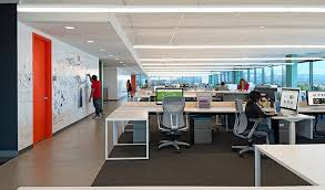 tech office furniture. exellent office view in gallery open office work areas highlight minimalism and economy in tech office furniture f