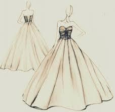 Karena sketsa model busana akan lebih mudah, karena sketsa membantu anda menyederhanakan pencarian bahan, warna kain, ukuran kain. Cara Menggambar Baju Gaun Yang Mudah Gambaryuk