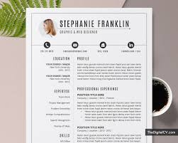 Modern 2020 Resume Template Clean Resume Template For Job Application 2019 2020 Cv Template Cover Letter 1 3 Page Ms Word Resume Modern Creative Resume Professional