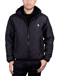U.S. Polo Assn. Diamond Quilted Hooded Jacket | eBay & U-S-Polo-Assn-Diamond-Quilted-Hooded-Jacket Adamdwight.com