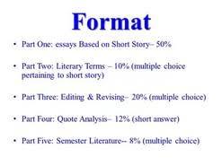 essay literary term  essay literary term