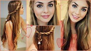 video hair makeup tutorial easy pretty hair make up perfect for your everyday look