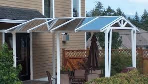 stunning glass canopies for decks doorways patios on vancouver island