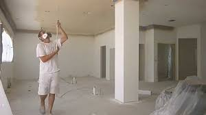 How to paint interior ceilings and walls that have crown molding FAST -  YouTube