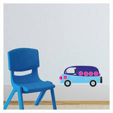 vintage car activity wall decal kd3037