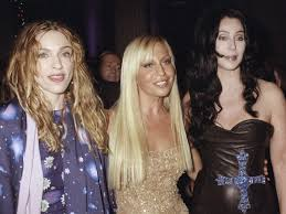 donatella versace reveals a stunning del about madonna and the aftermath of her brother s