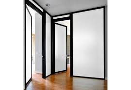 glass office hinged swinging doors