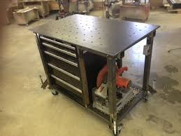 diy portable welding table 162 best welding tables tool storage images on