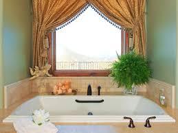 gorgeous fancy bathroom decor modern window curtains ideas