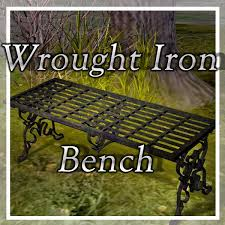 I Already Own One Of These Courtesy Of My Grandma Cast Iron Outdoor Wrought Iron Bench