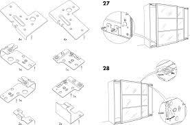 Handleiding Ikea Pax Stordal Schuifdeuren Pagina 4 Van 12 Dansk Ikea Pax Kast Schuifdeuren Handleiding