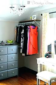 fascinating no closet storage ideas for house with closets small solutions diy rack amazing no closet solutions