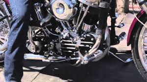1957 harley davidson flh panhead for sale youtube
