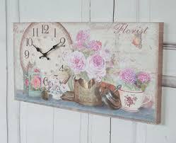 Wanduhr Claire Antique Uhr Im Shabby Chic Landhausstil