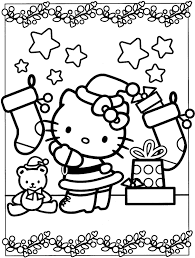 Hello kitty among flowers and hearts. Hello Kitty Mermaid Coloring Pages