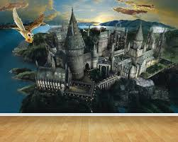 hogwarts harry potter castle wallpaper