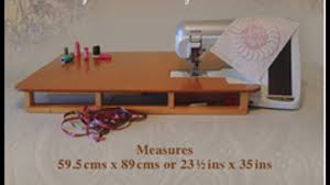 sewing machine large extension table