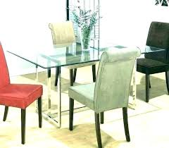 rectangle glass dining table rectangular set round tables and chairs narrow room sets base next r