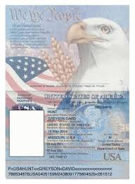 Us Passport Template Psd Us Passport Template Magdalene Project Org
