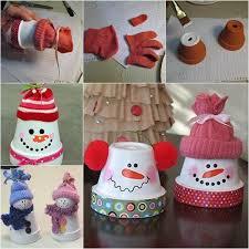Creative Ideas - DIY Adorable Terracotta Pot Snowman