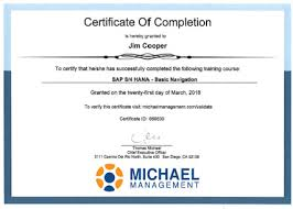 What Is Course Completion Certificate Sap Training Frequently Asked Questions