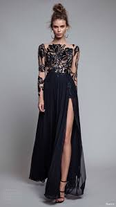 Best 25 Long Black Evening Dress Ideas On Pinterest Long Black