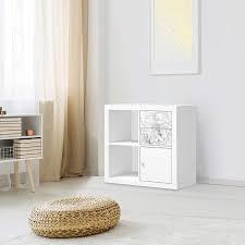 Verkaufe eine sehr gut erhaltenen. Mobelfolie Ikea Kallax Regal Schubladen Design Marmor Weiss Creatisto